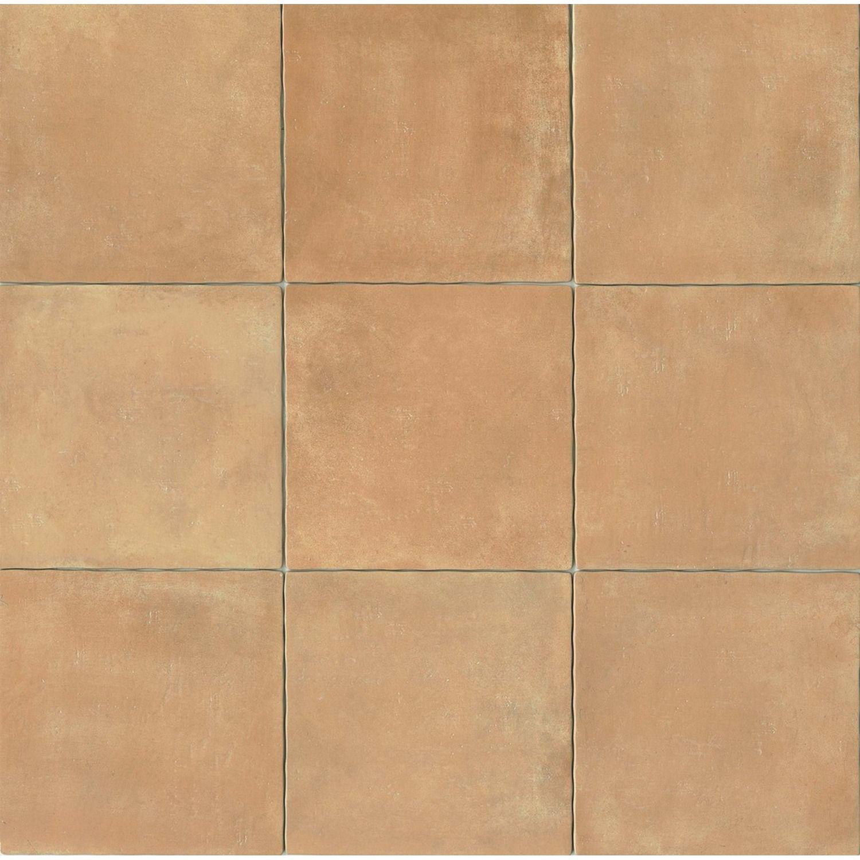 Cotto Nature 14 X 14 Floor Wall Tile In Cerdena Terracotta Tiles Flooring Porcelain