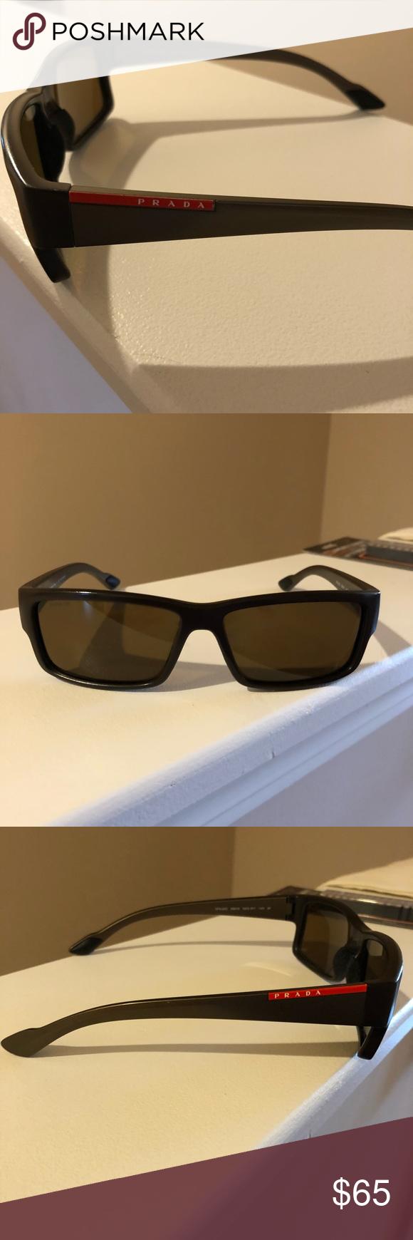 7ac82d4d975d Genuine Men s Prada sunglasses Genuine men s Prada sunglasses - lenses are  in good shape