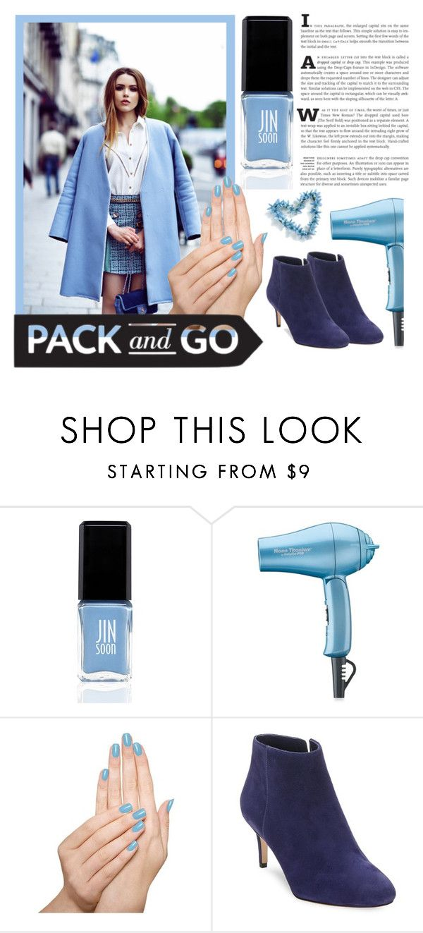 """Labor Day"" by newmariaph ❤ liked on Polyvore featuring JINsoon, BaByliss Pro, Piggy Paint, Via Spiga and Packandgo"