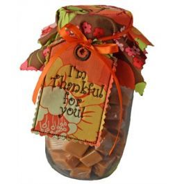 Thanksgiving Mason Jar Toppers & Tags In the Hoop