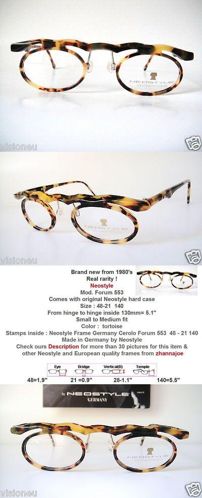 Eyeglasses 175805: Neostyle 48-21 Forum Lunettes Eyeglass Frames Vtg ...