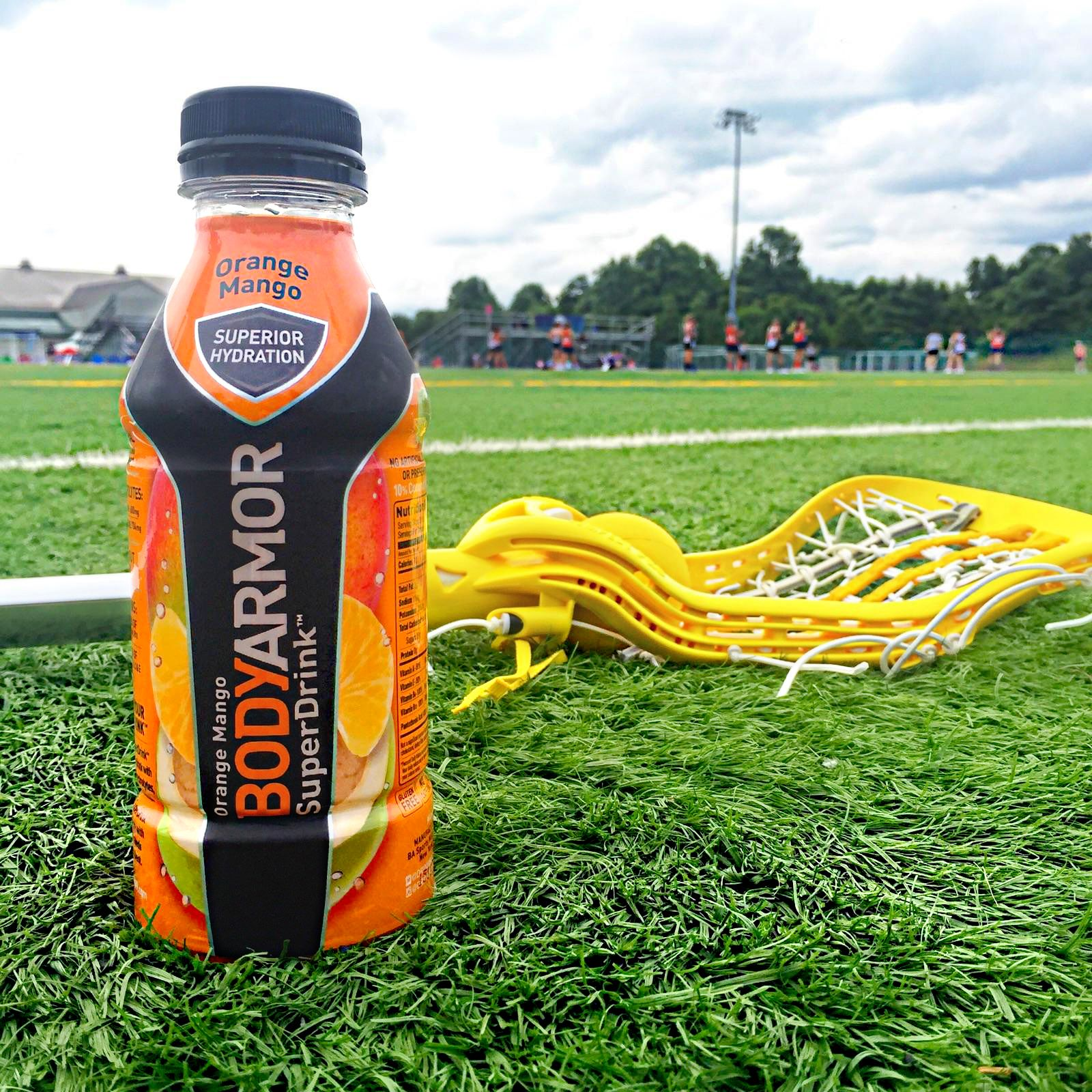The only way to get my athletes ready for game time. #MyBODYARMORsummer
