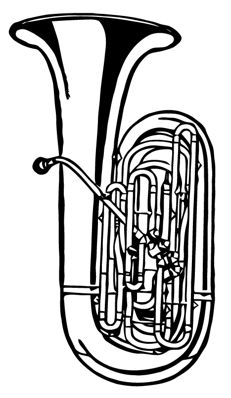ephemeraphilia free vector art tuba  free vector art
