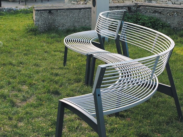 Good Modern Park Benches Part - 4: Modern Street U0026 Site Furnishings - Products - Park Benches - Vera