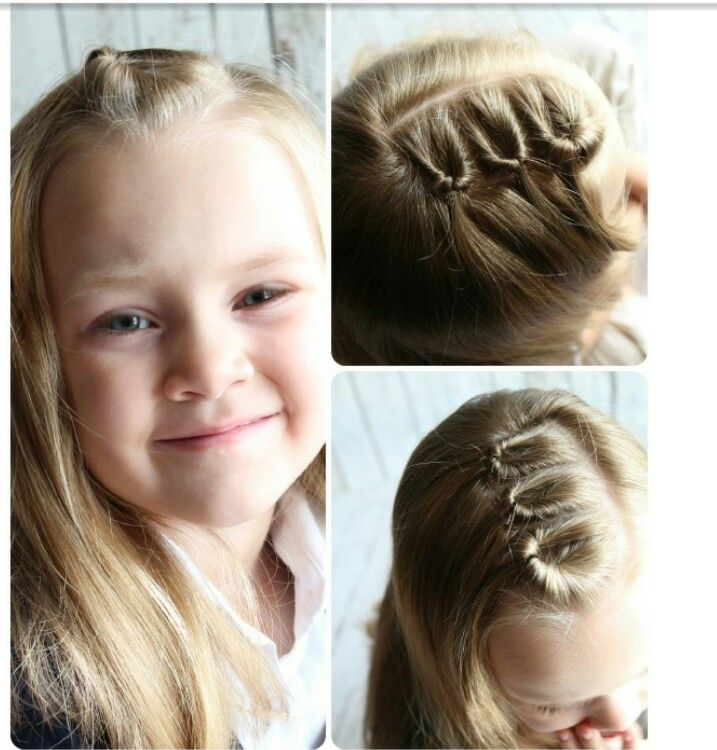 Easy Party Hairstyles For Kids Cute School Toddler