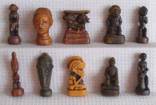 tout neuf meilleurs tissus nouveaux produits pour Art africain - 10 fèves en 3D - 2005 | Fèves en tout genre ...