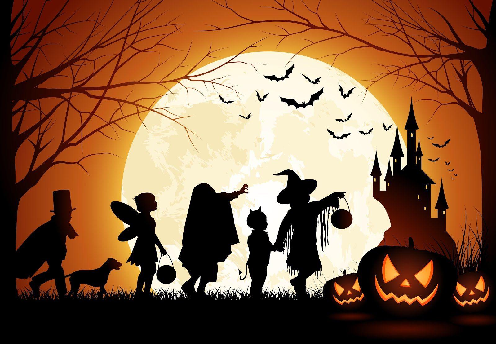 Frasi Halloween Paurose.60 Stati Per Halloween Frasi E Immagini Paurose E Divertenti Whatsapp Web Whatsappare Halloween Silhouettes Happy Halloween Pictures Halloween Images