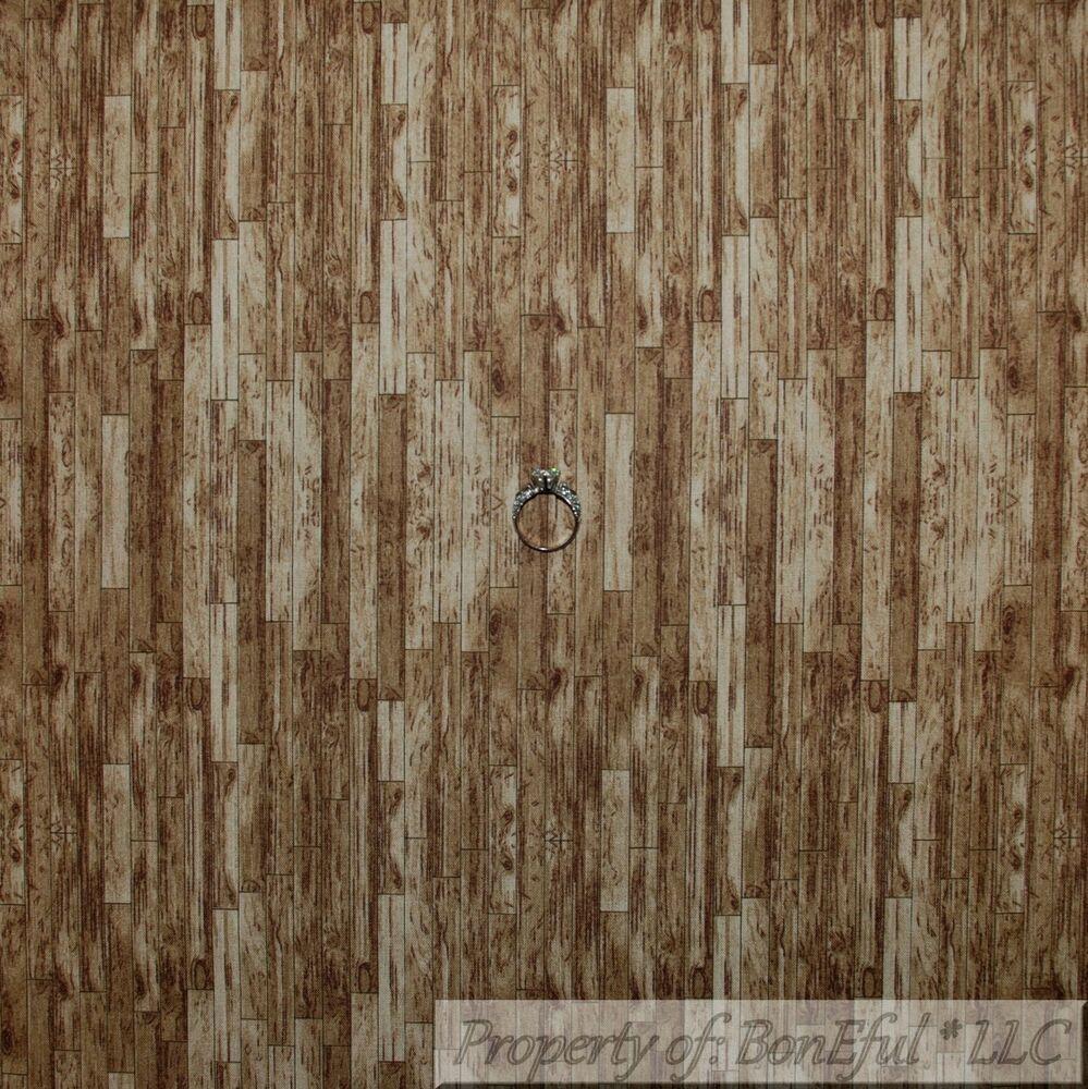 Boneful Fabric Cotton Quilt Vtg Brown Log Cabin Texture Barn Wood Stripe 4 Scrap Ebay In 2020 Cotton Quilts Barnwood Floors Barn Wood