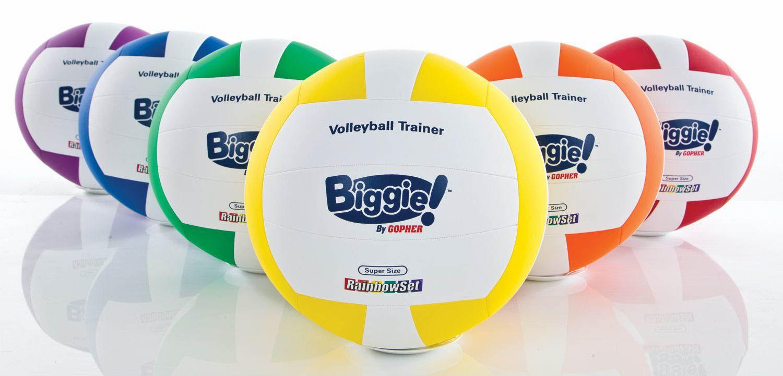 Rainbow Biggie Volleyball Play With A Purpose Teacher Help Student Organization Volleyball
