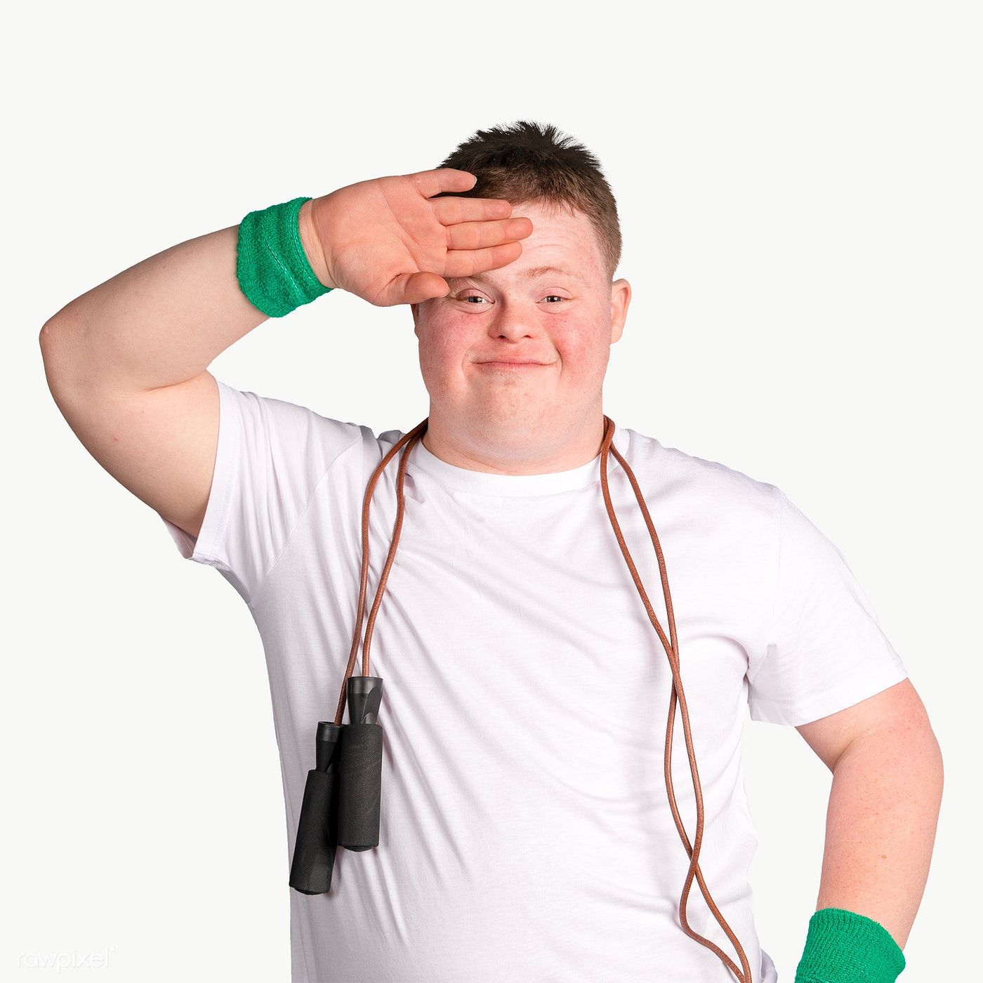 Kid With Down Syndrome With A Skipping Rope Around His Neck Premium Image By Rawpixel Com Mckinsey