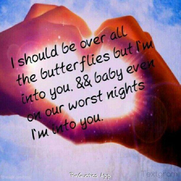 Still into you Love