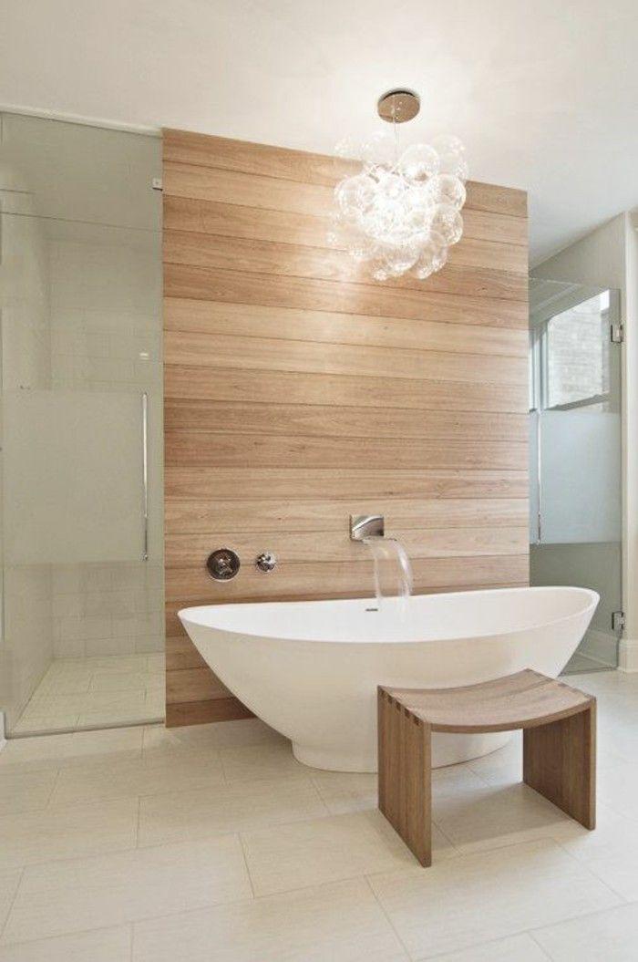 GroBartig Badgestaltung Ideen Bader Ideen Badezimmer In Weis Und Braun Badewanne  Duschkabinne