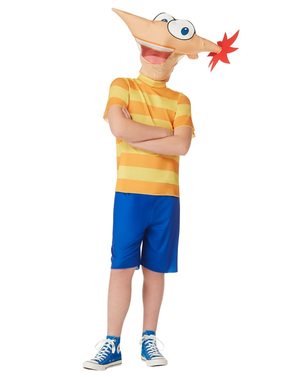 phineas and ferb phineas boys costume exclusively at spirit halloween what are you going to - Phineas Halloween Costume