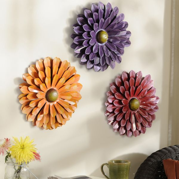 Metal Wall Flowers Essential Decor For Spring Summer