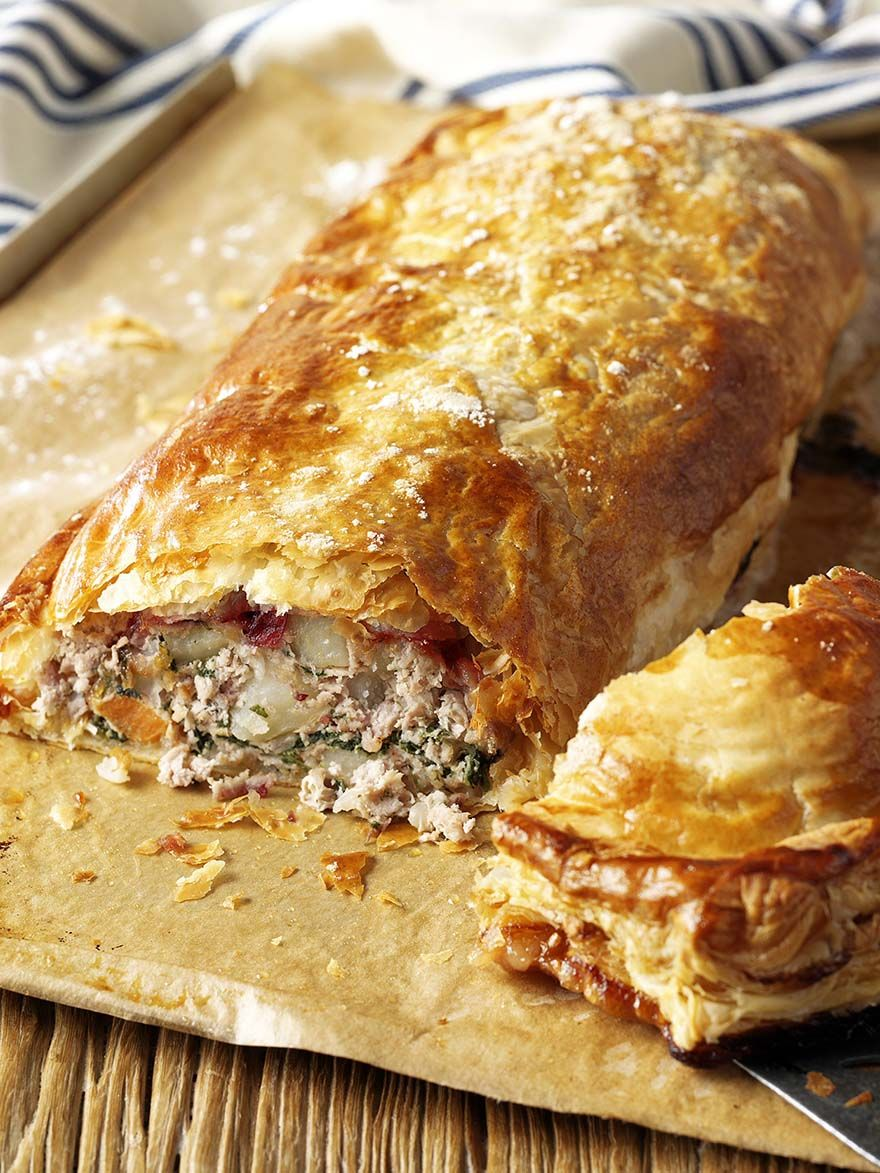 Minced Turkey Wellington | Turkey mince recipes