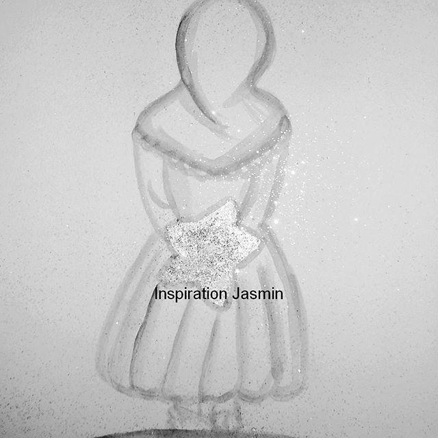 Nouvelle réalisation d'une petite musulmane #muslimkids #watercolor#illustrations #dream