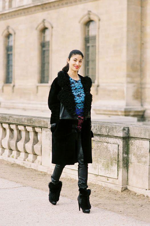 Vanessa Jackman: Paris Fashion Week AW 2012/2013....Doina and Caroline