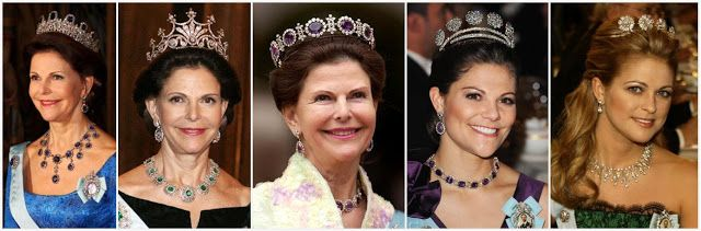 We'll take Sweden, or the Swedish Foundation's tiaras