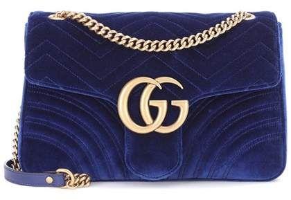 6f20c12df Gucci GG Marmont Medium velvet shoulder bag #gucci #ShopStyle #MyShopStyle  click link for more information