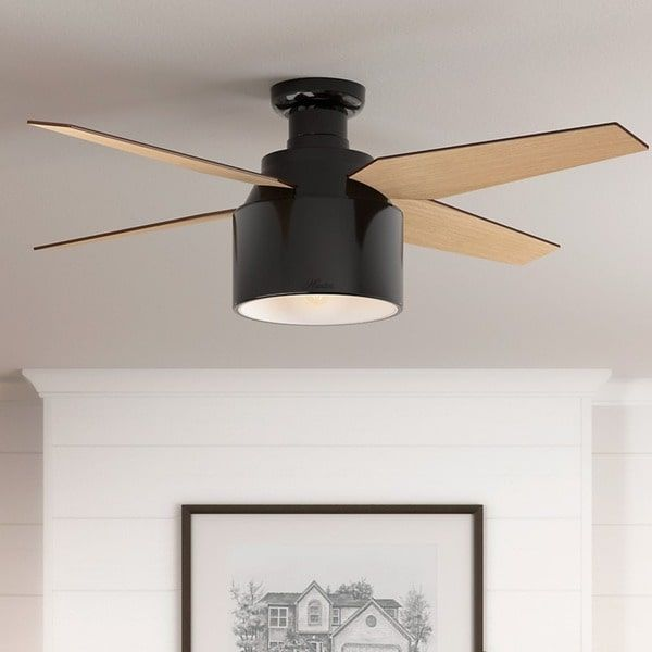 220v 42 Inch Modern Simple Ceiling Fans With Lights Remote Control Abs Leaf 3 Colors Change Suit For Office Living Room Parlor Long Performance Life Ceiling Fans