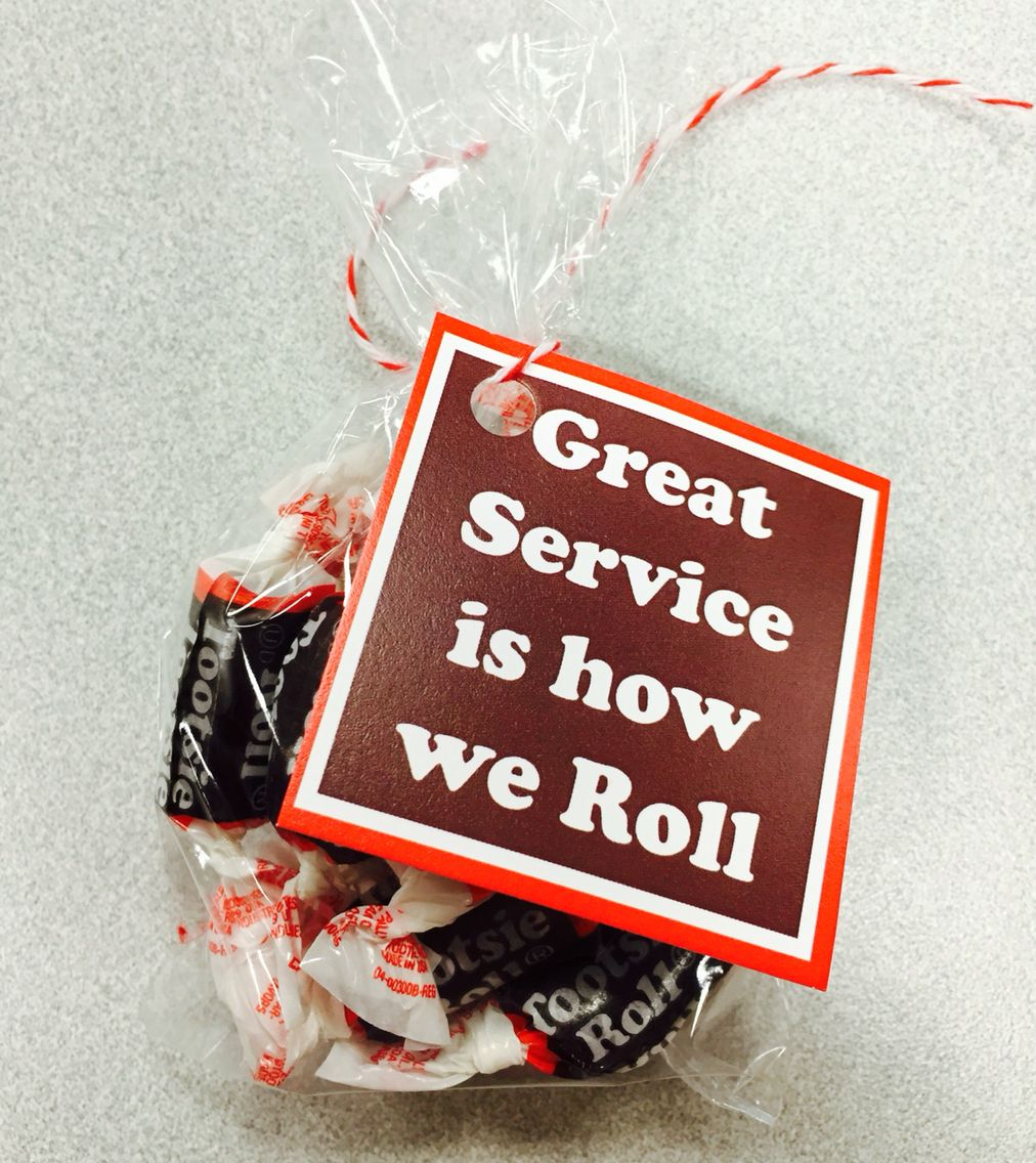 Great Service Is How We Roll Customer Service Week 2015 Client