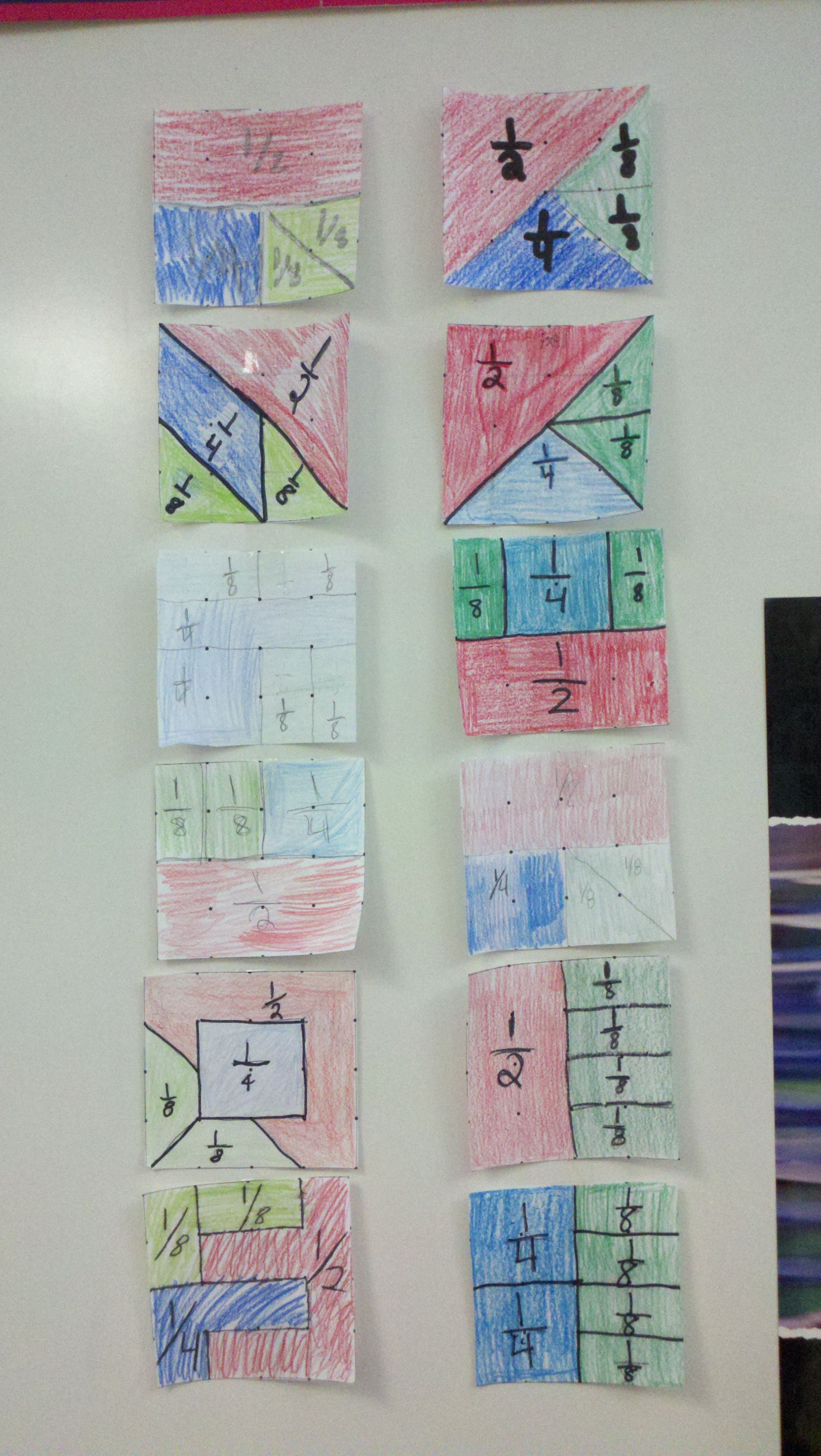 Mixed Brownie Fractions - Teaching Fractions with Marilyn Burns ...