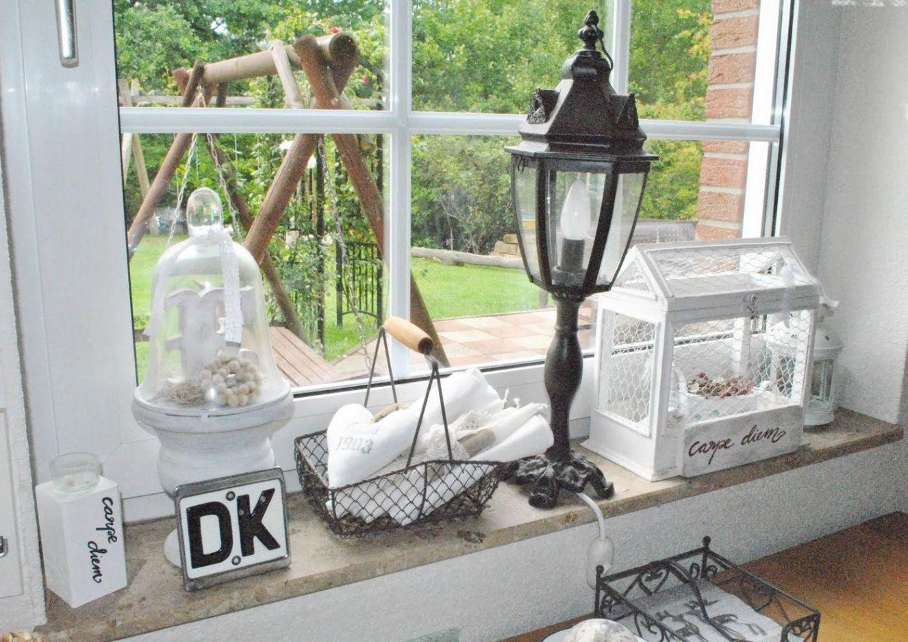 deko wohnzimmer fensterbank : Elegant Deko F R Wohnzimmer Fensterbank Wohnzimmer Lampen