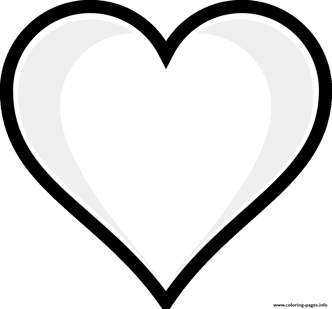 Print Printable Heart Emoji Coloring Pages Funny Pinterest