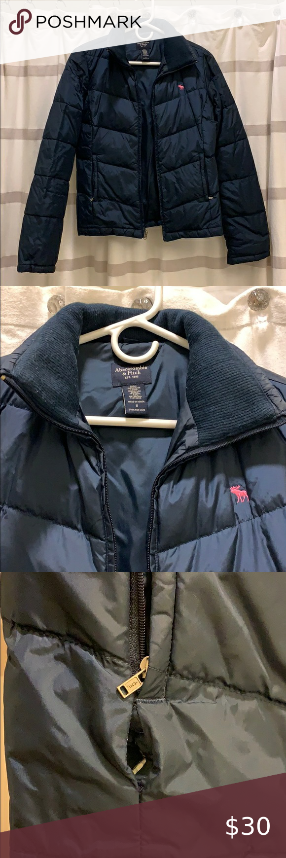 Donated A F Puffer Jacket Jackets Abercrombie And Fitch Jackets Puffer Jackets [ 1740 x 580 Pixel ]