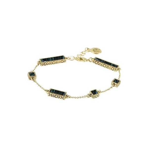 House of Harlow 1960 Jewelry The Long Rains Station Bracelet ($64) ❤ liked on Polyvore featuring jewelry, bracelets, malachite, resin bracelet, house of harlow 1960 jewelry, house of harlow 1960, bracelet jewelry and bracelet bangle