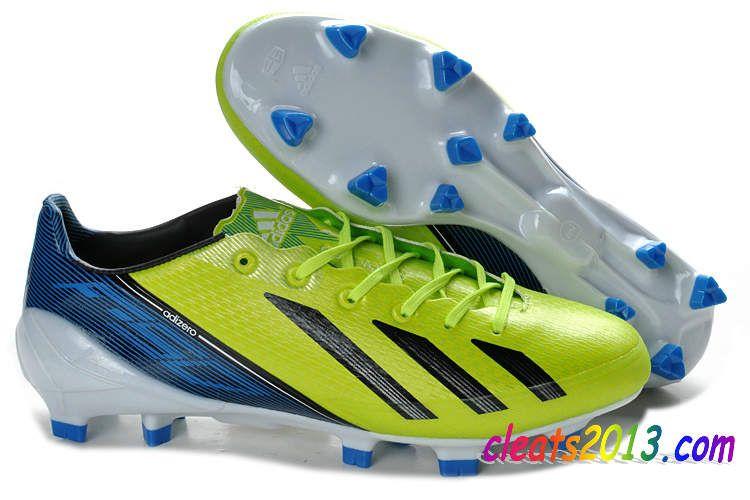 newest eb967 4a32c Adidas F50 Adizero TRX FG Messi Limited Soccer Cleats - Neon Green Black  Blue  58.98