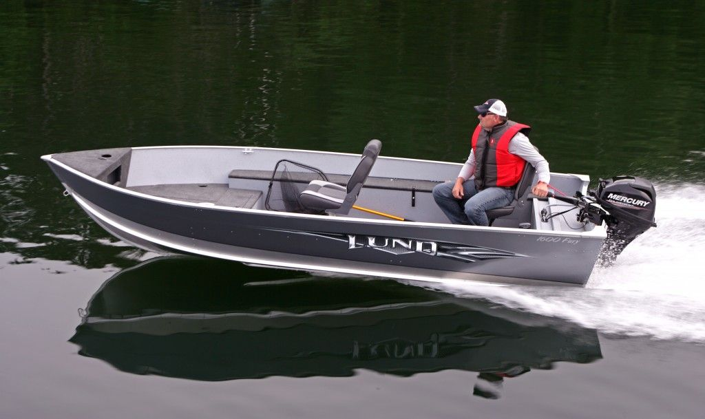 Lund Boats 1400 Fury And 1600 Fury Aluminum Fishing Boats