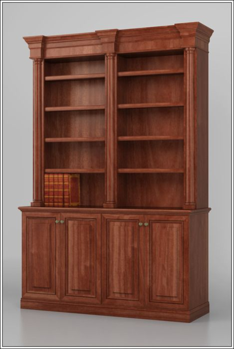 Bookshelves Plans Custom Bookcase Design Traditional Bookcase