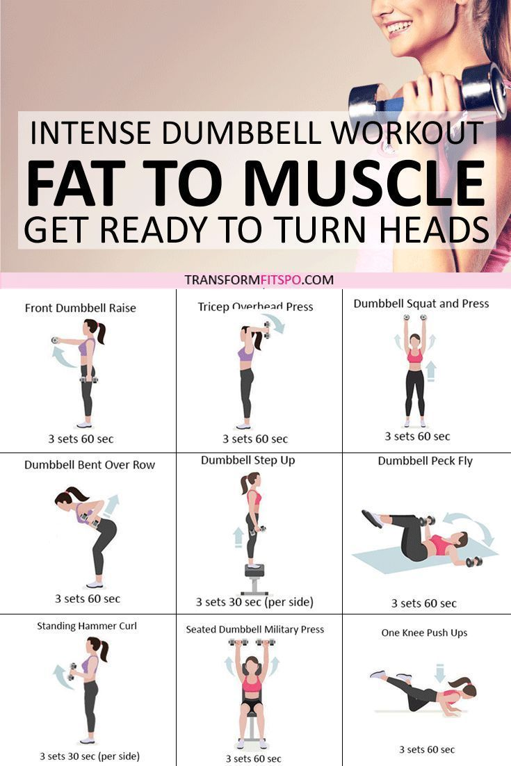 ?? Rapid Results Dumbbell Workout! Adding Weights Will Turn Fat to Muscle! Get Ready to Turn Heads... - Transform Fitspo #dumbbellworkout