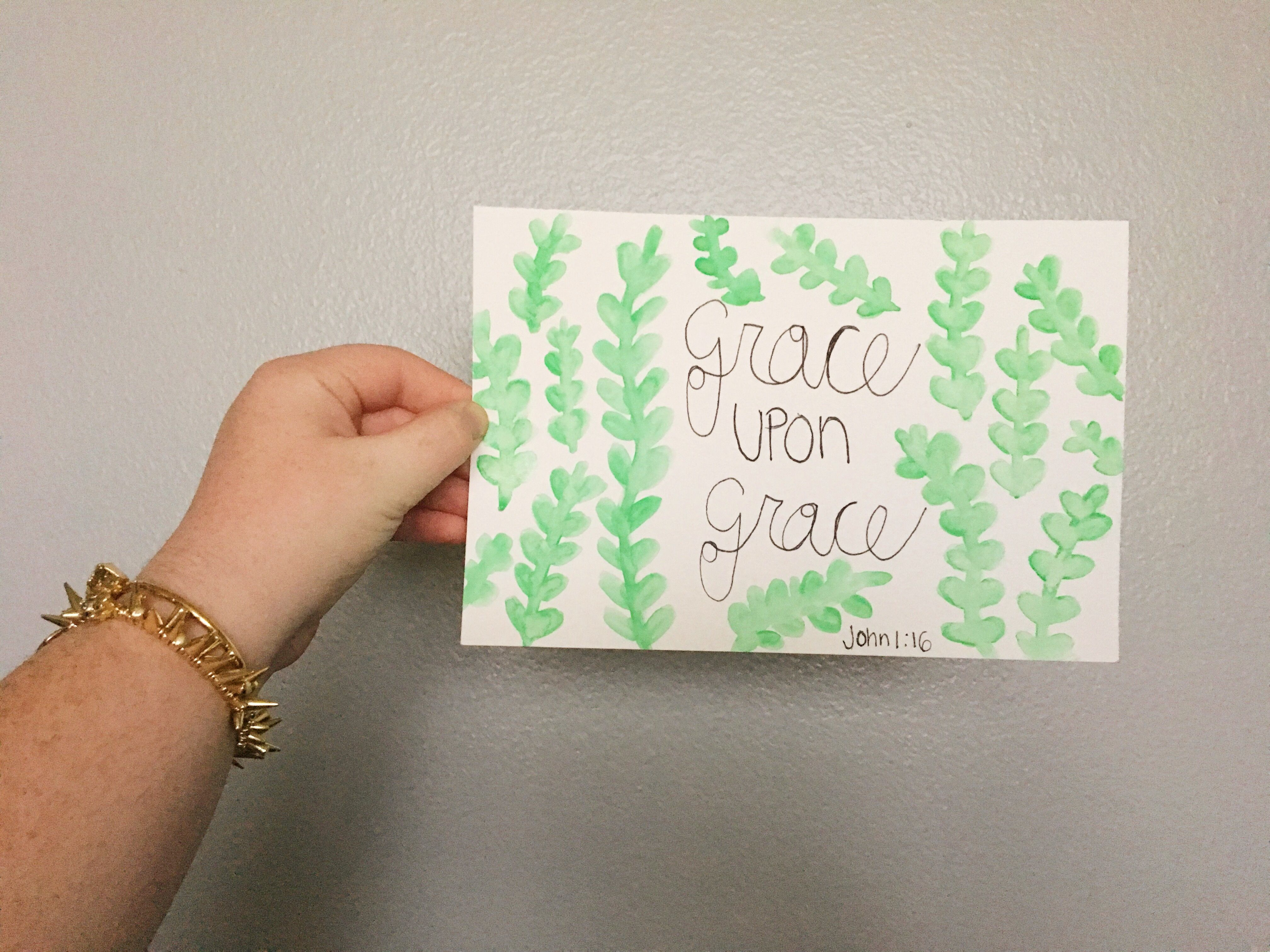 But he gives us grace upon grace. This post dives in deeper to one of my favorite verses!