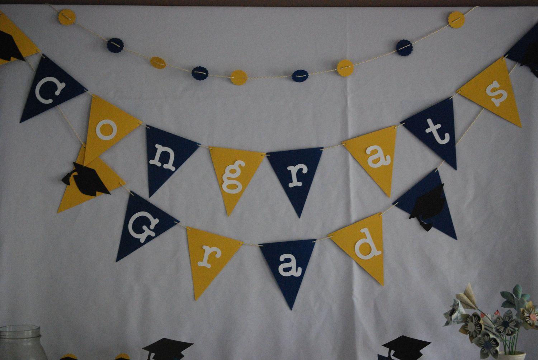 congrats grad bunting graduation