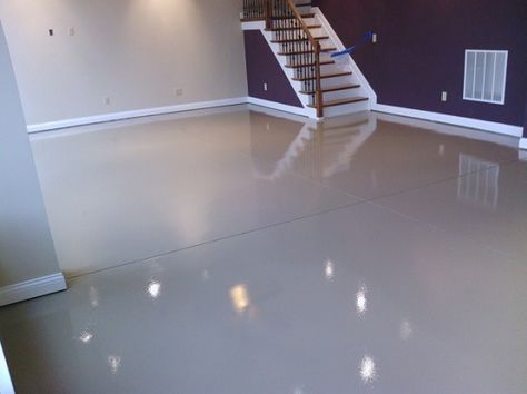 White Epoxy Paint Waterproof Bat Flooring More