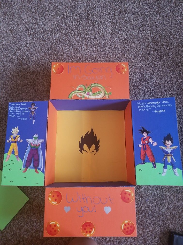 Dragon Ball Z Care Package Boyfriend Stuff Gifts Deployment Packages Valentine