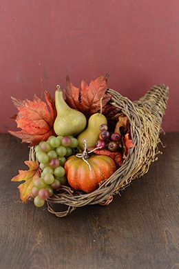 Baskets | Fall harvest decorations, Thanksgiving ...