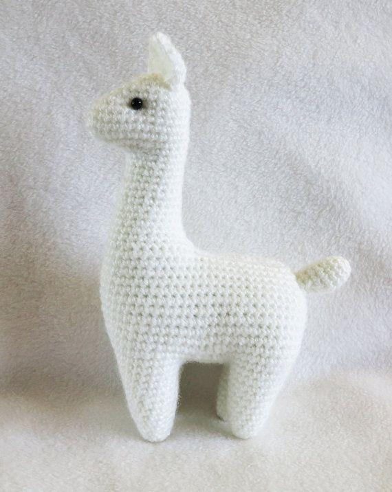 CROCHET PATTERN: Llama Amigurumi Plush | tejidos y mas | Pinterest ...