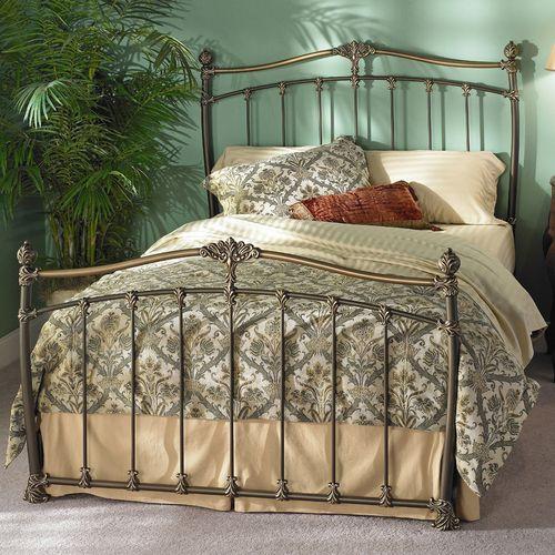 Merrick Bed By Wesley Allen Bedding Plus Iron Beds In