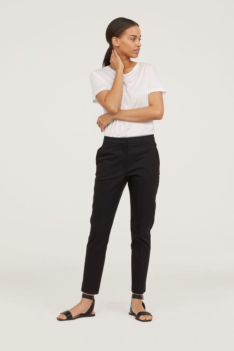 Dress Pants Black Women H M Us Dress Slacks For Women Slacks For Women Black Dress Slacks [ 1200 x 800 Pixel ]
