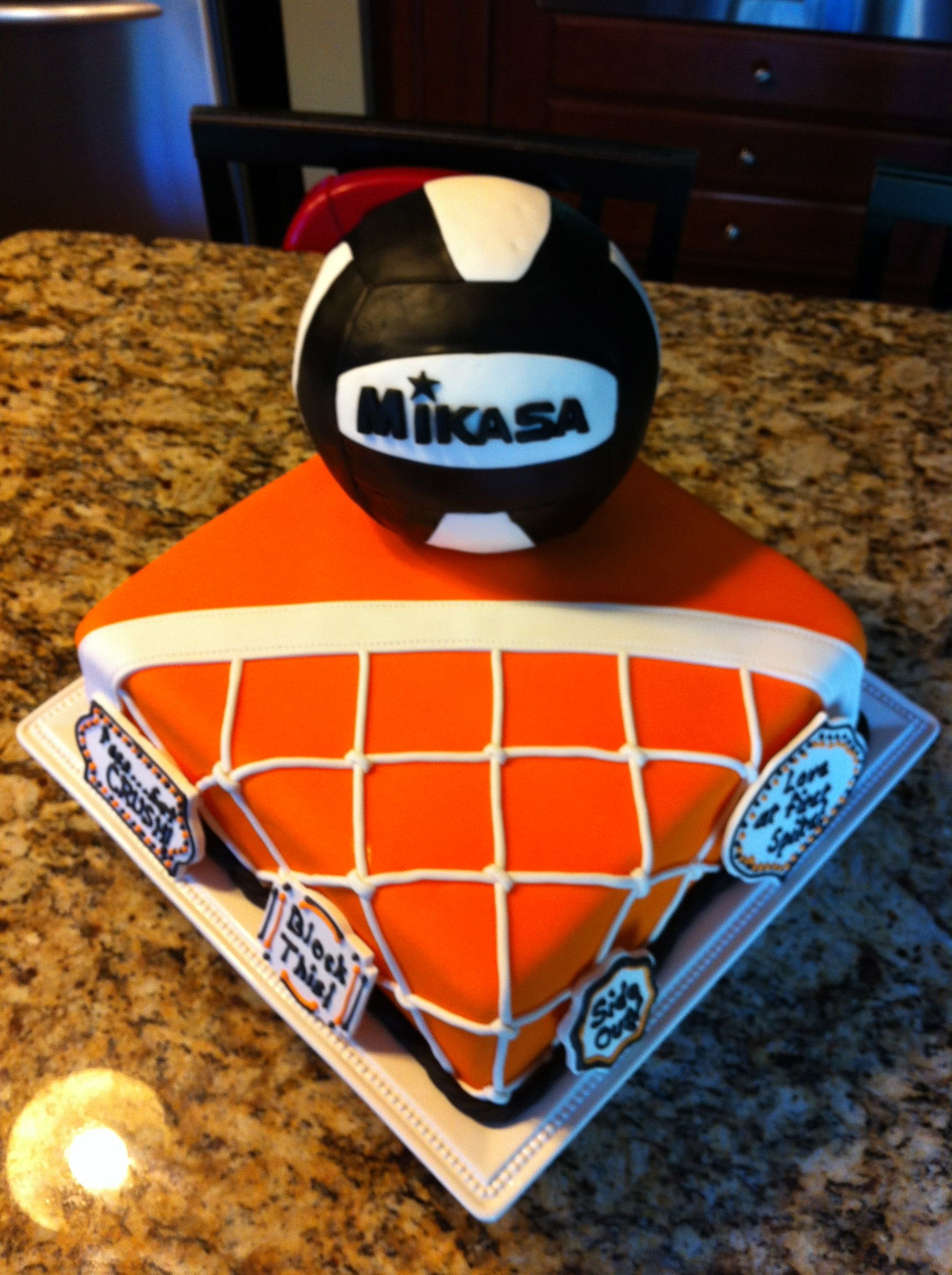 Volleyball Theme Cake Birthday Cakes Themed Cakes Volleyball Cakes Sport Cakes