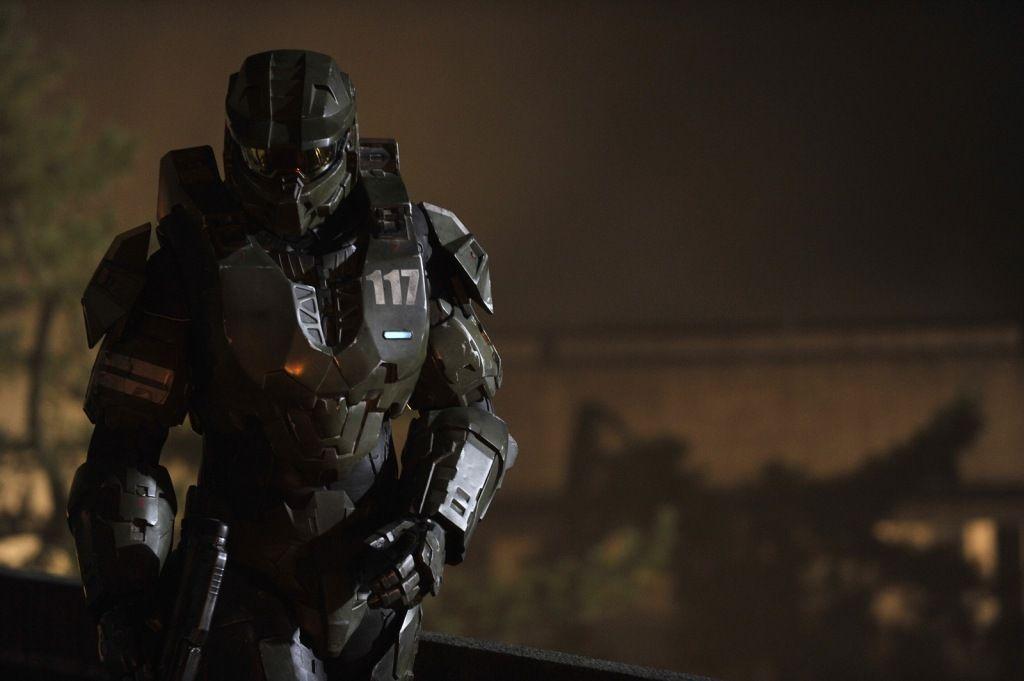 Halo 4 Forward Unto Dawn Live Action Series Showing Master Chief Badass