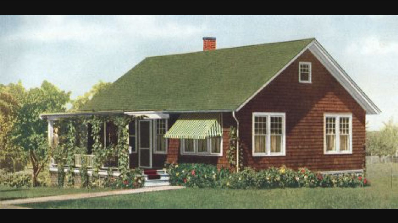 Best Paint The House Brown With Green Tin Roof Green Roof House 400 x 300