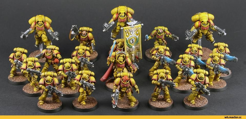Image result for imperial fists primaris marines