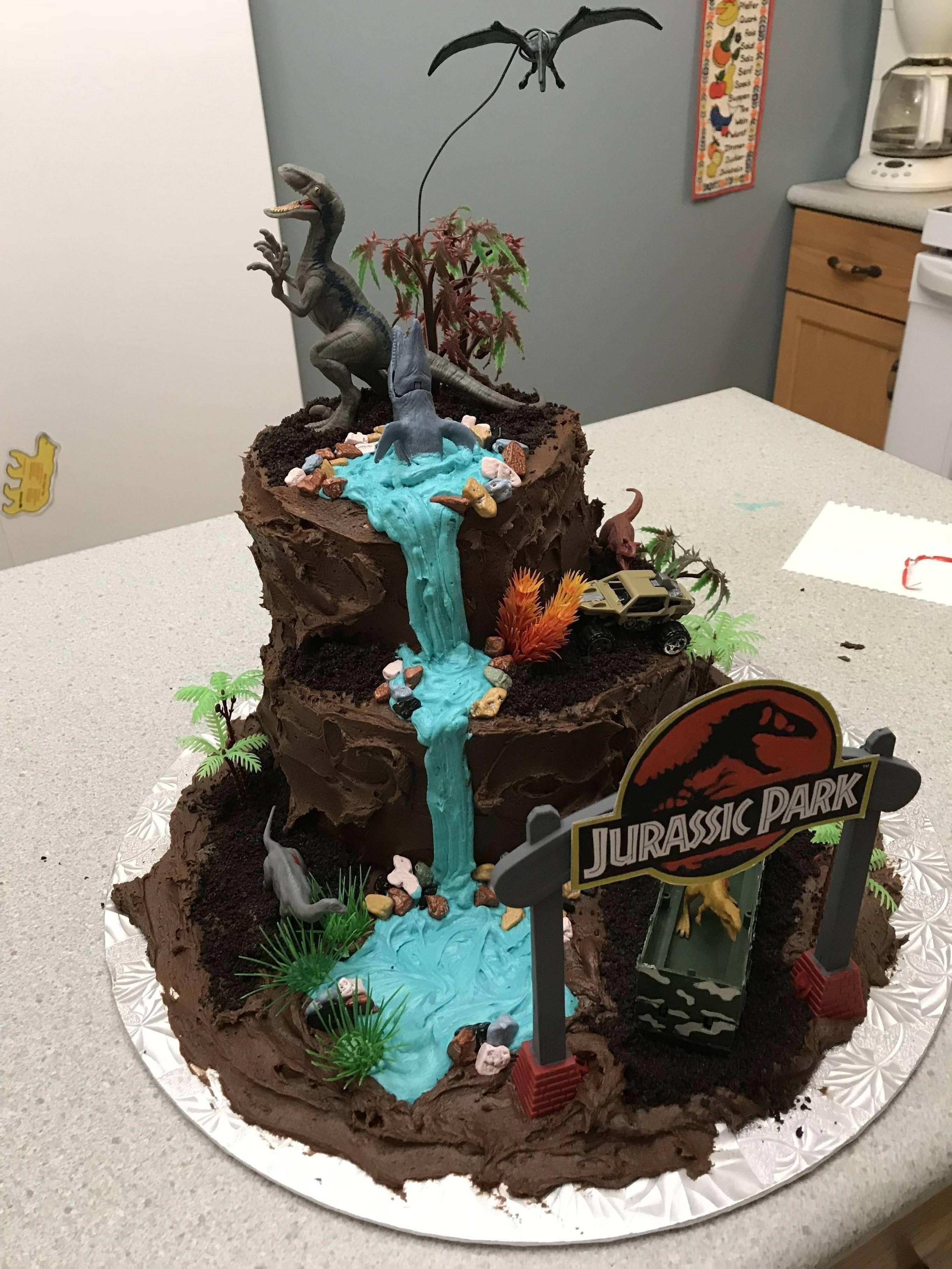 Jurassic Park Birthday Cake Jurassic Park Birthday Cake Album On Imgur #jurassicparkworld