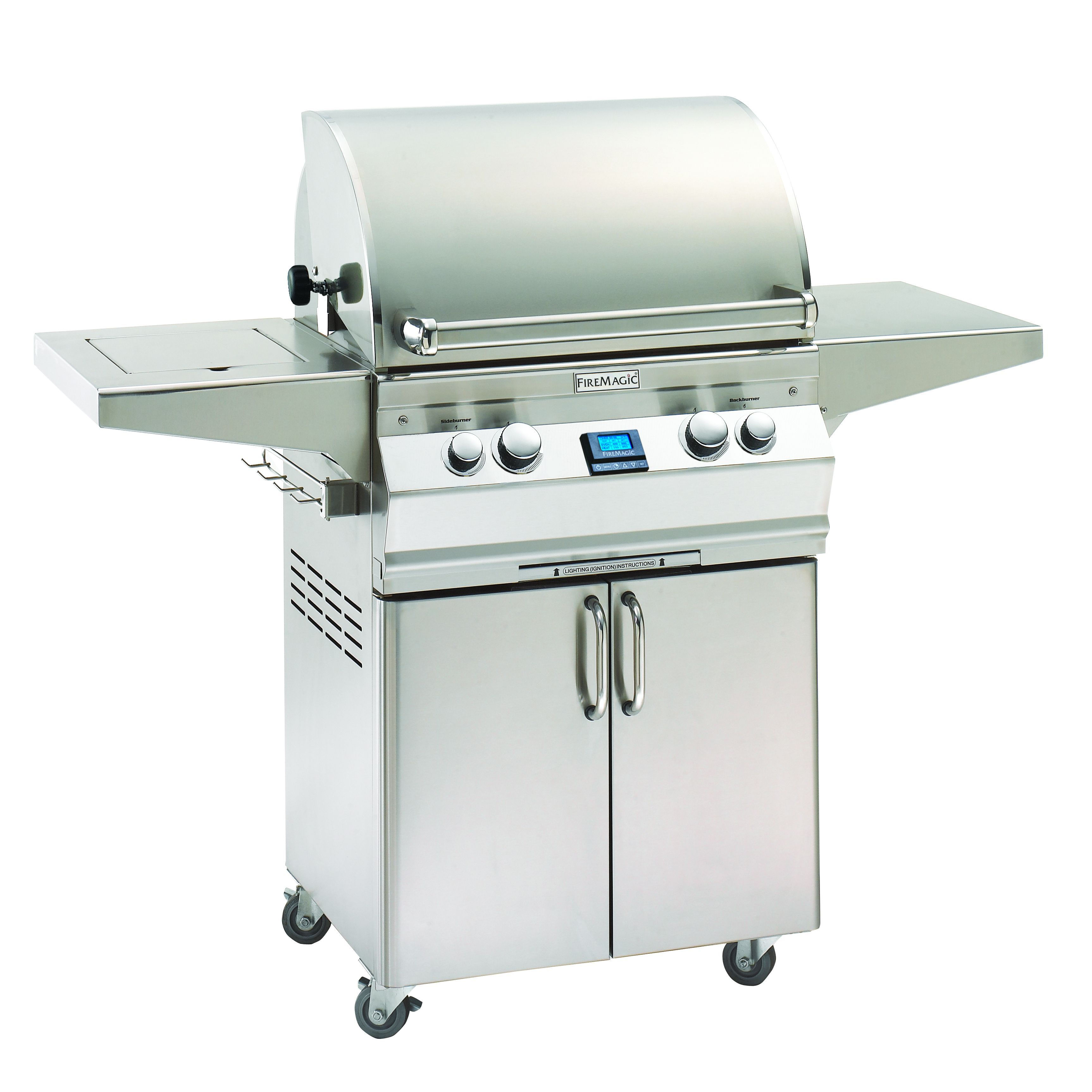 Shop For Fire Magic Portable Stainless Steel Gas Grill . Get Free Delivery  At   Your Online Garden U0026 Patio Store! Get In Rewards With Club O!