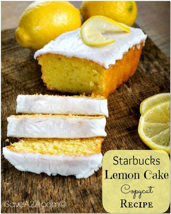 starbucks lemon cake copycat recipe kucher essen und trinken pinterest keks dessert. Black Bedroom Furniture Sets. Home Design Ideas