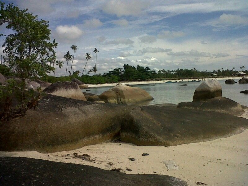 Beach in Belitung, Indonesia
